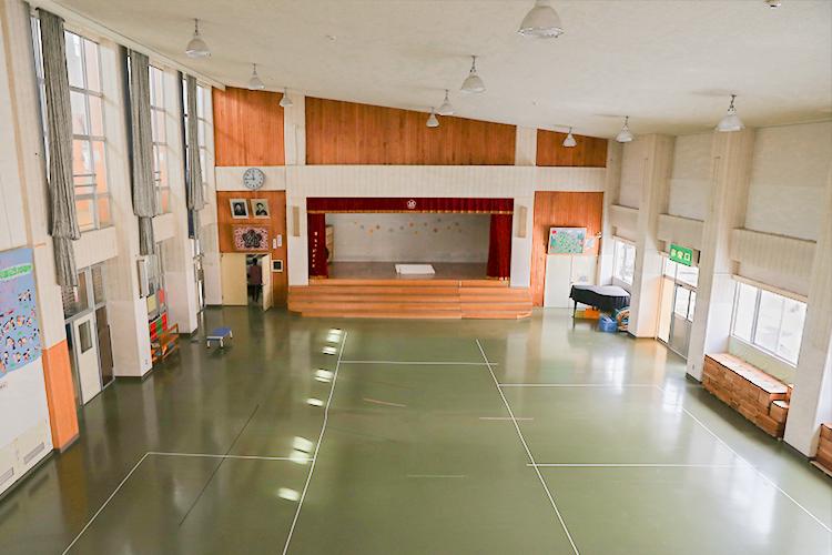 柴田幼稚園のホール